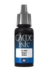 VALLEJO GC: Ink: Black  Ink (17 ml.)