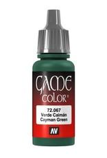 VALLEJO GC: Cayman Green (17 ml.)