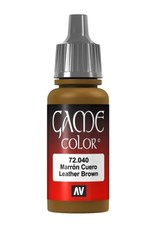 VALLEJO GC: Leather Brown (17 ml.)