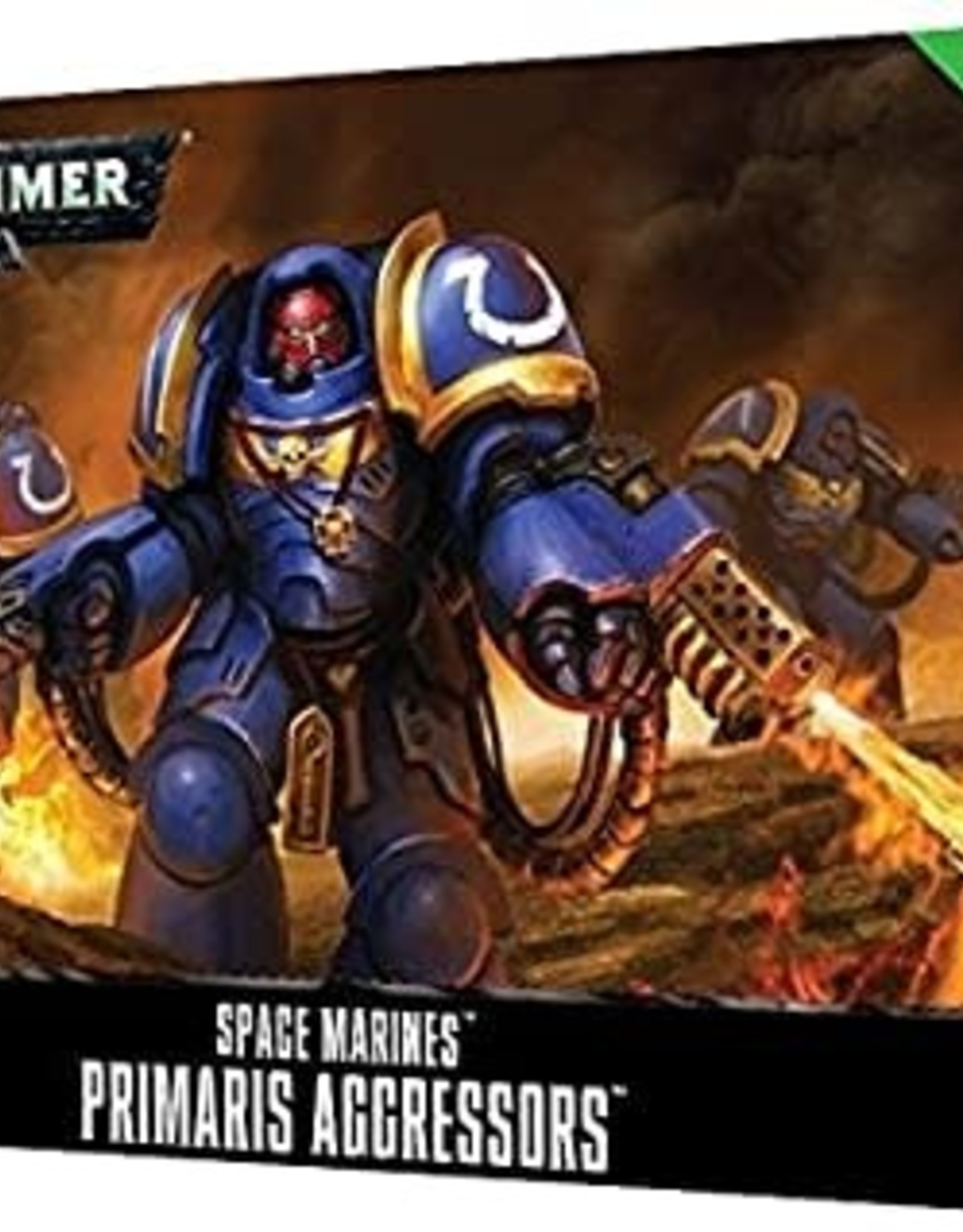 Games Workshop Easy to Build: Space Marines Primaris Aggressors