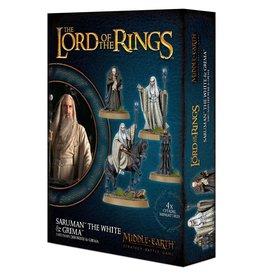 Games Workshop LotR Saruman the White & Grima
