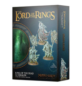 Games Workshop LotR King of the Dead & Heralds