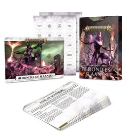 Games Workshop WH40K: Slaanesh Warscroll Cards