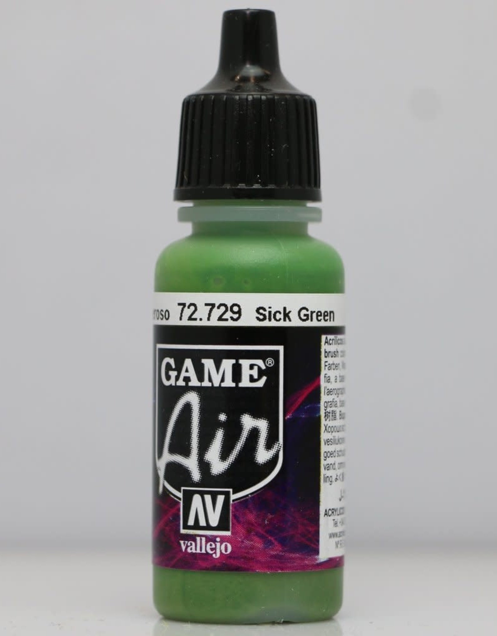 VALLEJO GA: Sick Green (17 ml.)