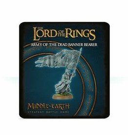 Games Workshop LotR MiddleEarth Army of the Dead Banner