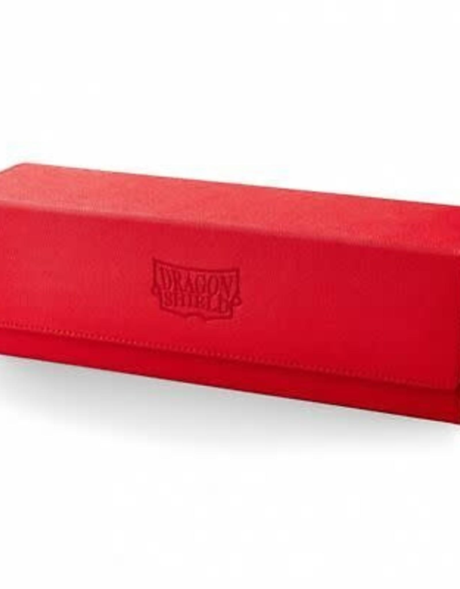 Arcane Tinmen Dragon Shield Deck Box: Magic Carpet 500 Red w/ Black