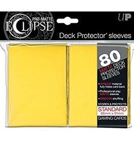 Ultra Pro UltraPro Pro-Matte Eclipse Sleeves Yellow 80 pack
