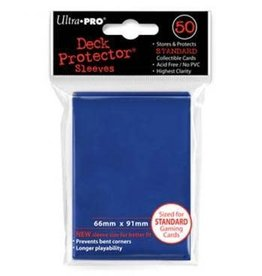 Ultra Pro Solid Blue Deck Protector Blue