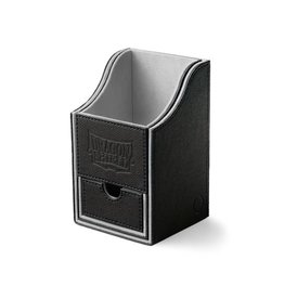 Arcane Tinmen Dragon Shield Nest Box 100+ Black w/White(grey)
