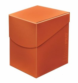 Ultra Pro Pumpkin Orange 100+ Pro Eclipse Deck Box