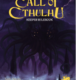 Chaosium Call of Cthulhu  7th ed Keeper Rulebook