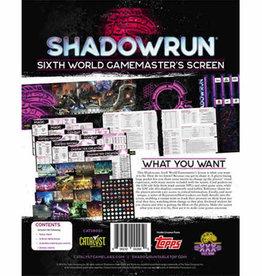 Shadowrun 6e GM Screen