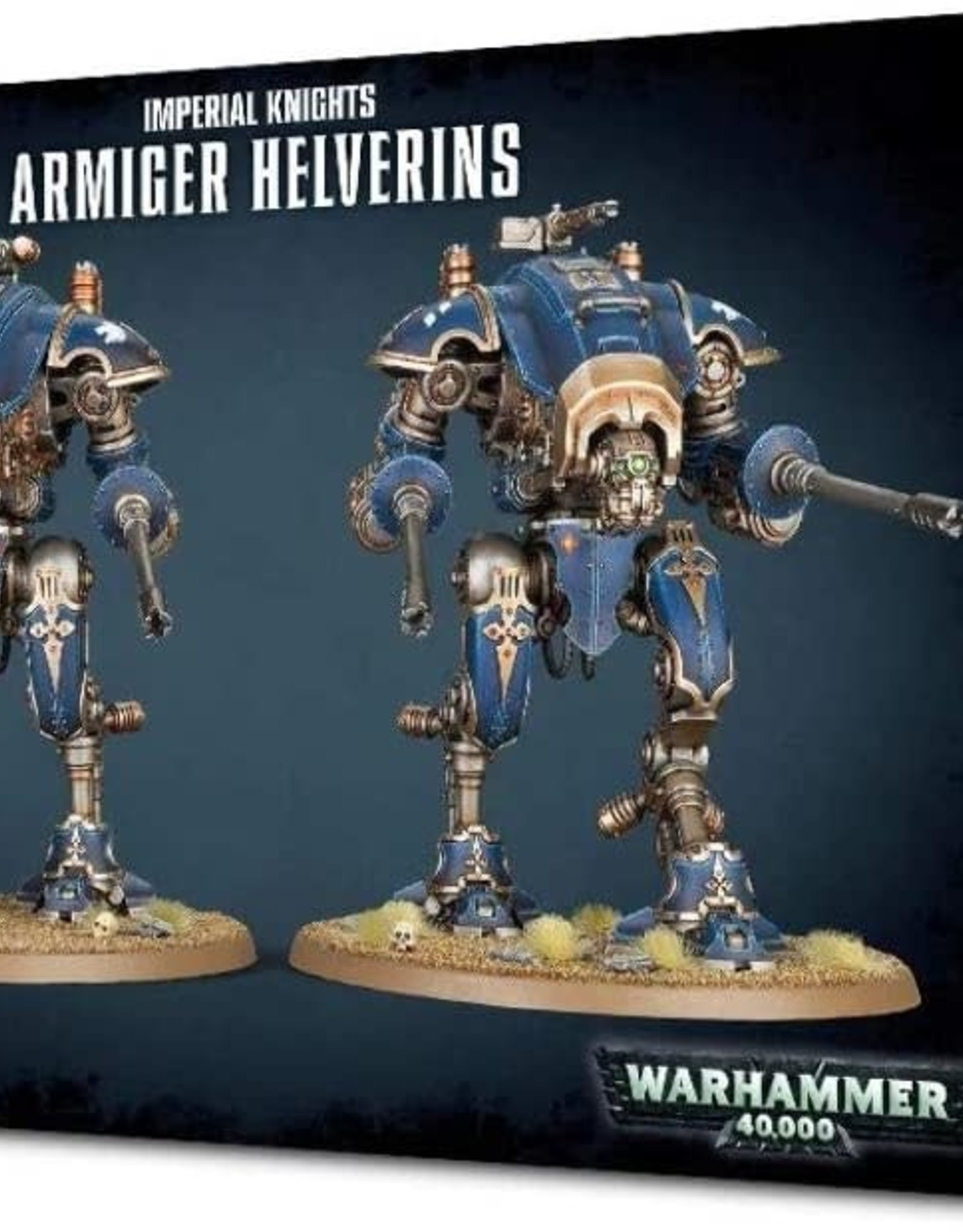 Games Workshop IMPERIAL KNIGHTS ARMIGER HELVERINS