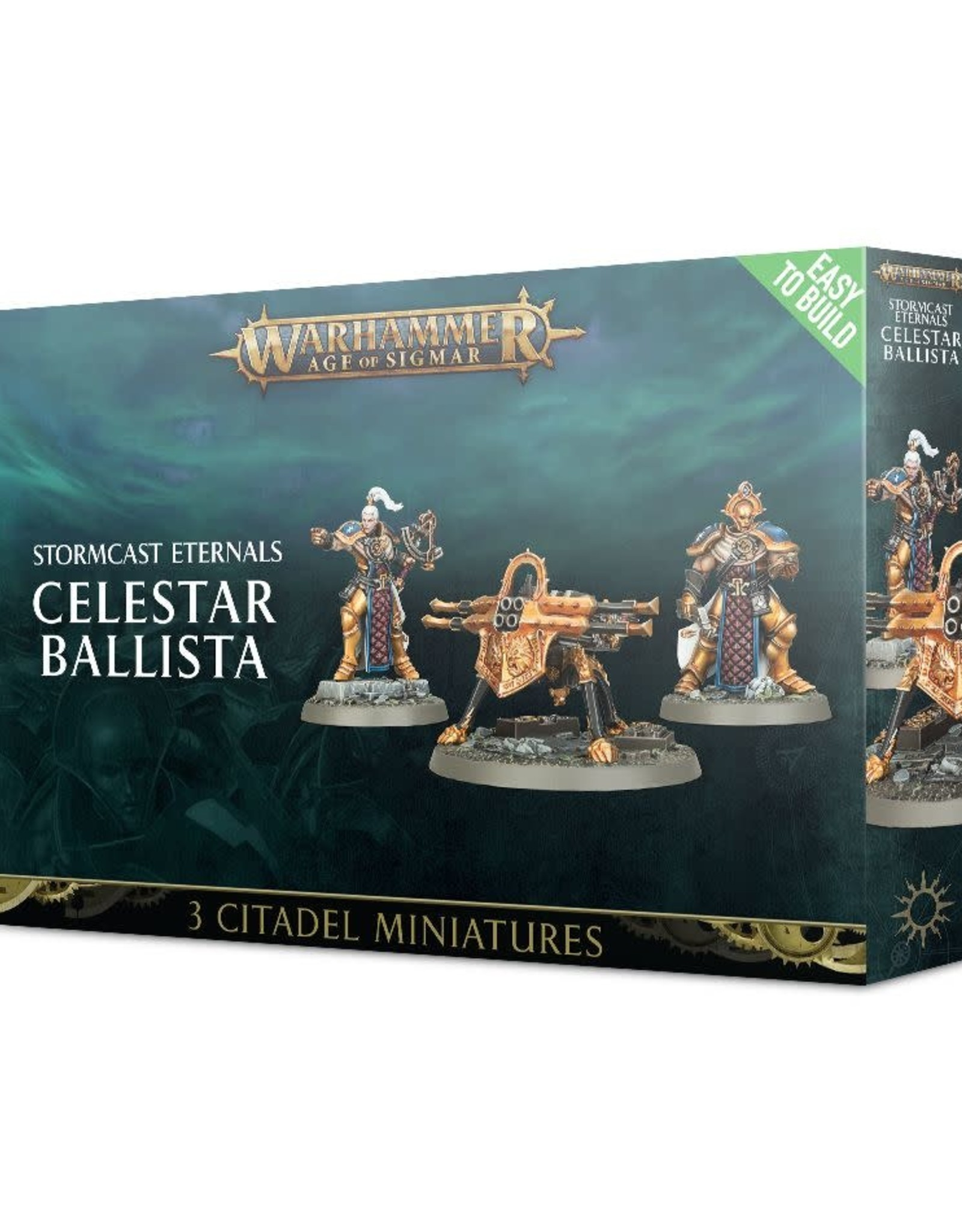 Games Workshop EtB Stormcast Eternals Celestar Ballista