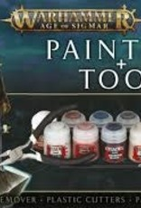 Games Workshop AOS PAINTS+TOOLS ENG/SPA/PORT/LATV/ROM