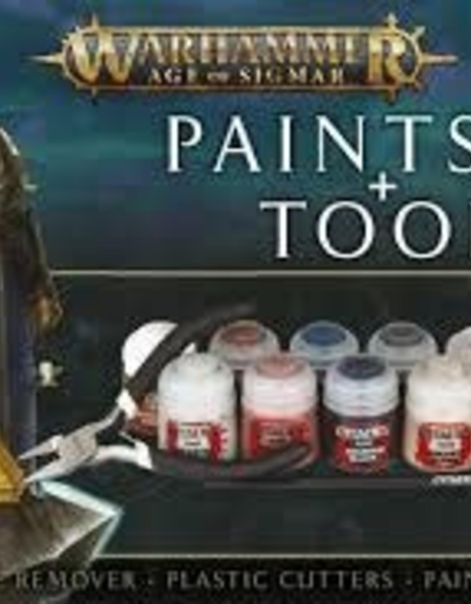 Games Workshop AOS PAINTS+TOOLS ENG/SPA/PORT/L