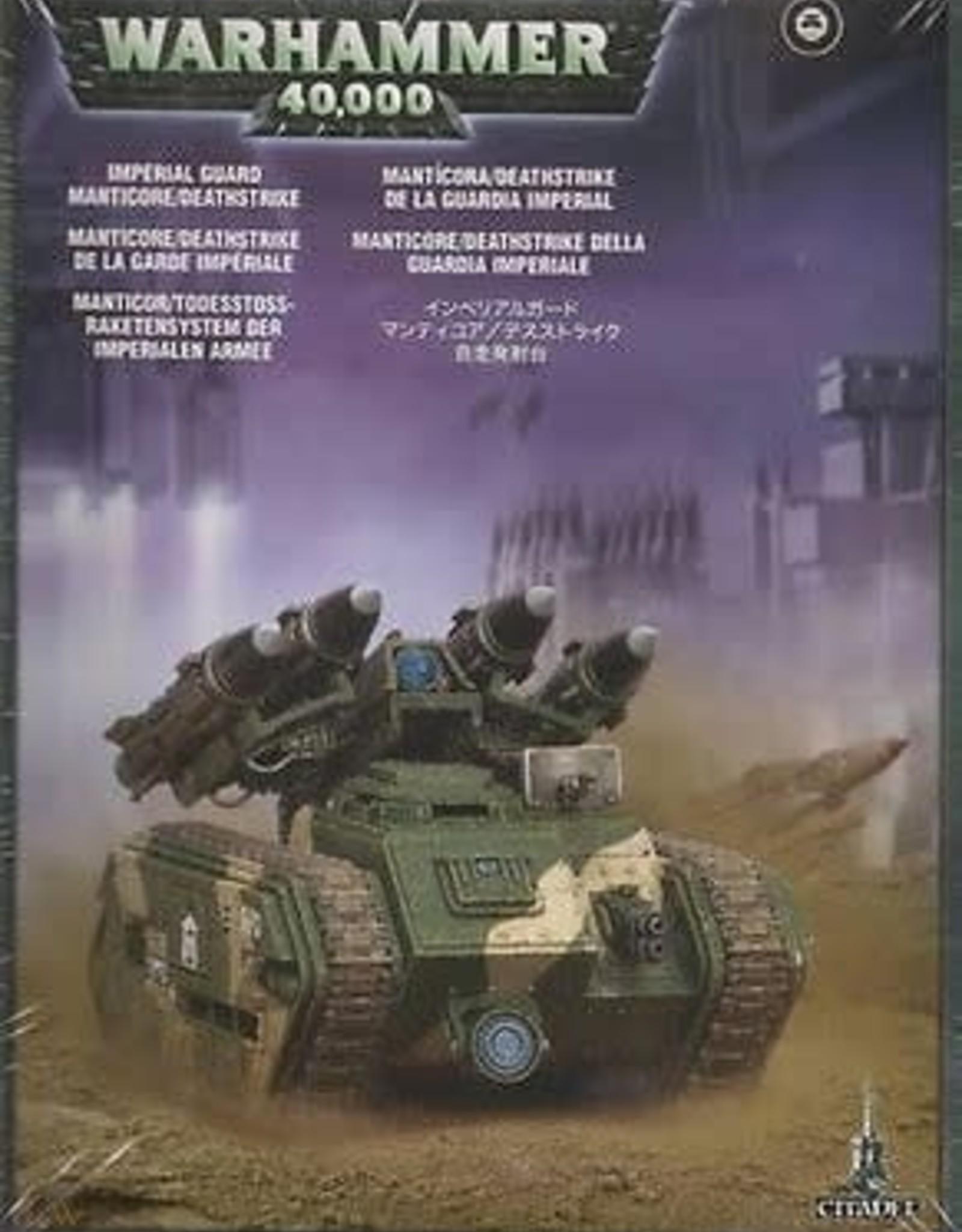 Games Workshop Astra Militarum Manticore