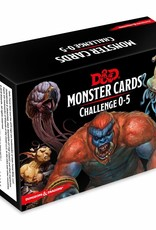 Gale Force 9 D&D 5th: Monster Cards: Challenge 0-5