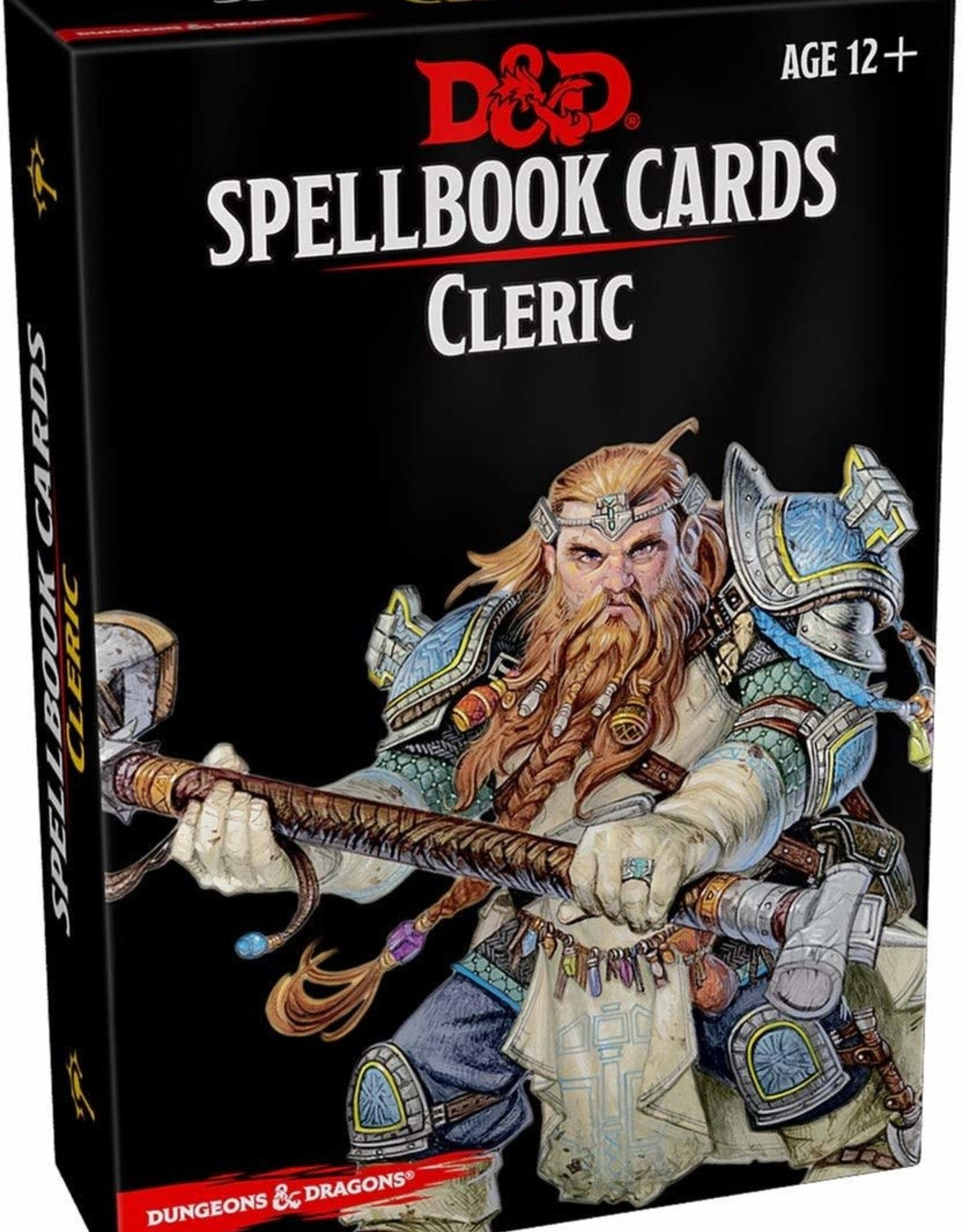 Gale Force 9 D&D 5th: Spellbook Cards: Cleric