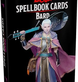 Gale Force 9 D&D 5th: Spellbook Cards: Bard