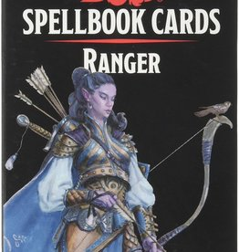 Gale Force 9 D&D 5th: Spellbook Cards: Ranger