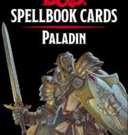 Gale Force 9 D&D 5th: Spellbook Cards: Paladin