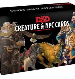 Gale Force 9 D&D 5th: Creature & NPC Cards