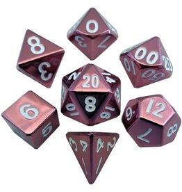 Metallic Dice Game Metalic Dice Games Red 7-Set