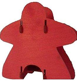 Knockdown Dice Tower Red meeple