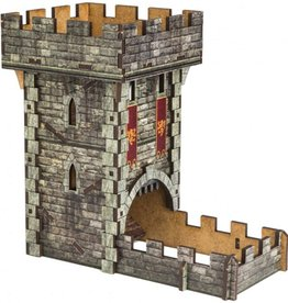 Dice Tower: Castle (Colored)