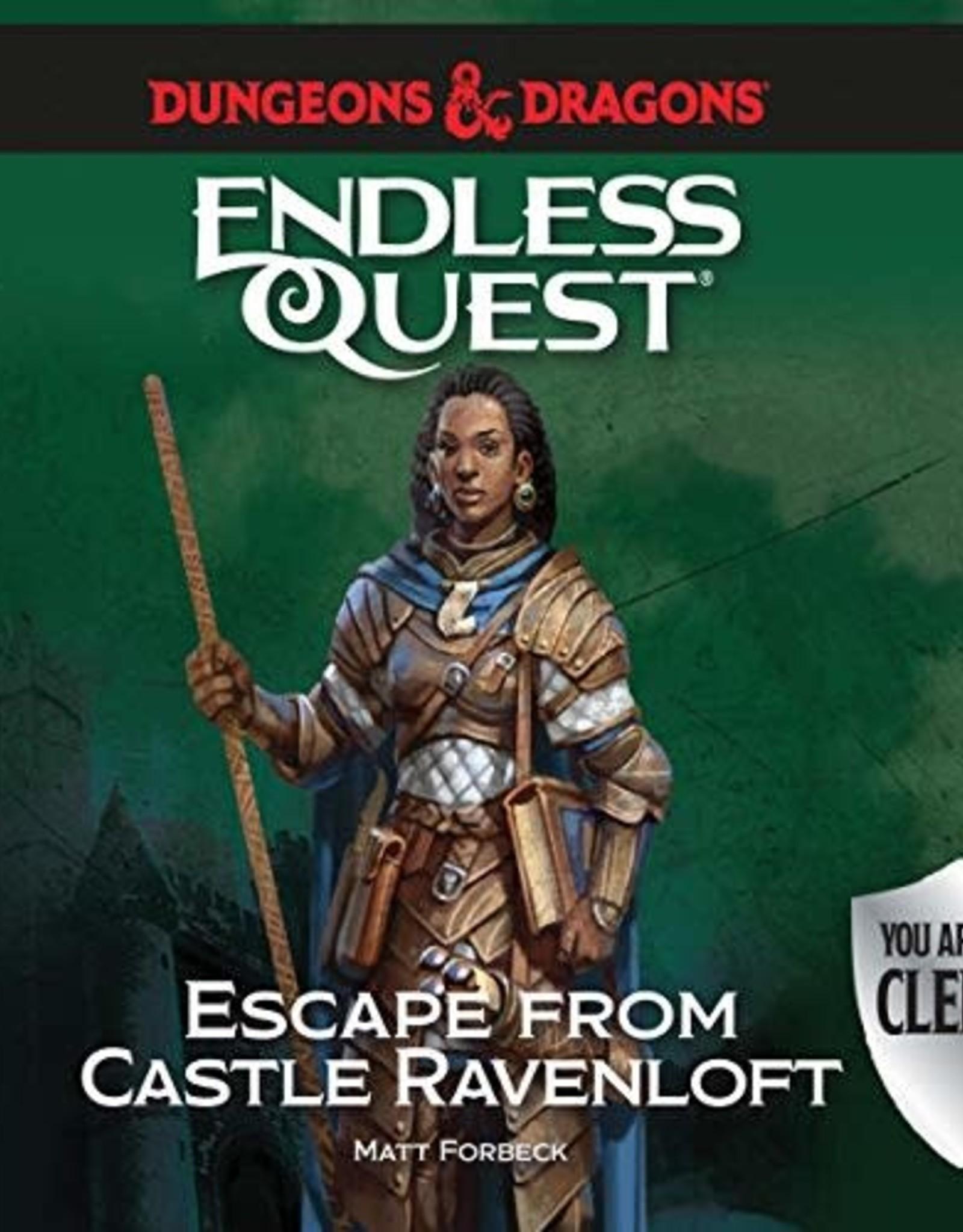 Random House D&D Endless Quest: Escape from Castle Ravenloft