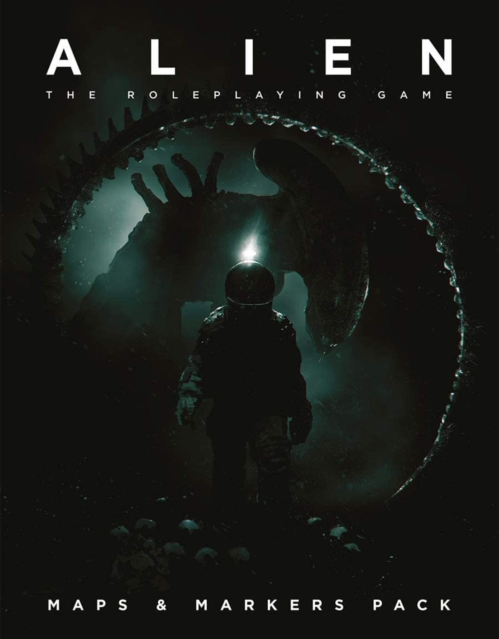 Alien RPG: Maps & Markers Pack