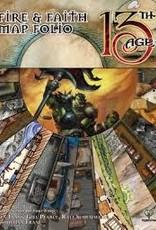 13th Age Fire & Faith Map Folio