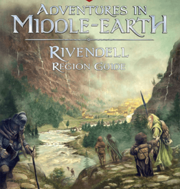 Cubicle 7 Adv Middle Earth: Rivendell Region Guide