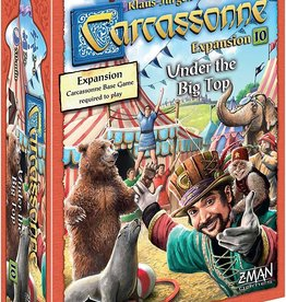 Z-Man Games Carcassonne Exp 10: Under the Big Top