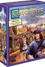 Z-Man Games Carcassonne Exp 6: Count, King & Robber