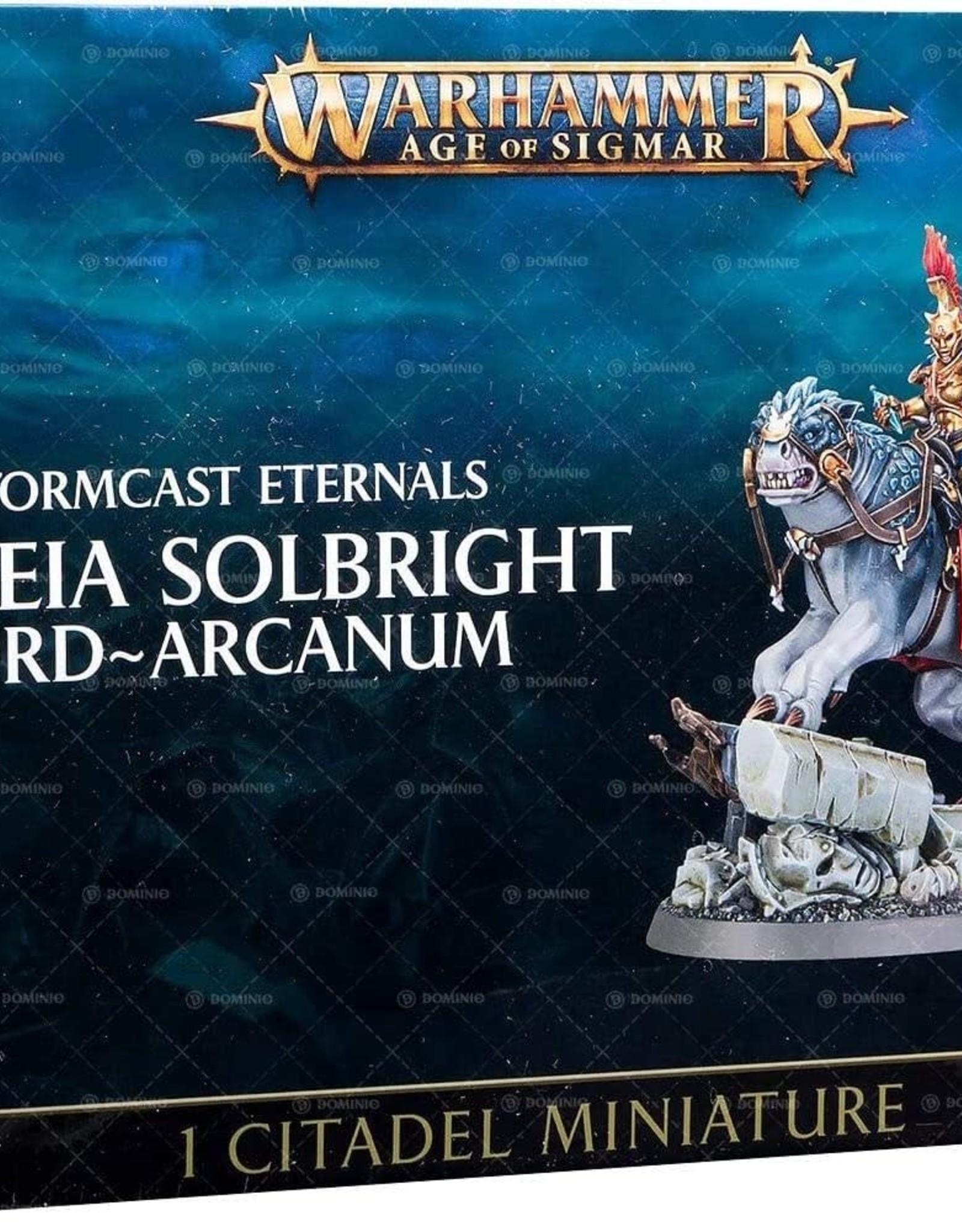 Games Workshop Stormcast Eternals Astreia Solbright Lord Arcanum