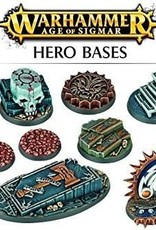 Games Workshop AGE OF SIGMAR HERO BASES