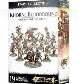 Games Workshop Start Collecting! Khorne Bloodbound Goreblade Warband