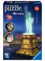 Ravensburger 3D Puzzle Statue Liberty - Night