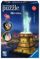 Ravensburger 3D Puzzle Statue Liberty Night