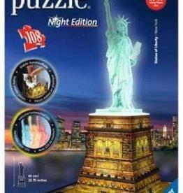 Ravensburger 3D Puzzle Statue Liberty Night