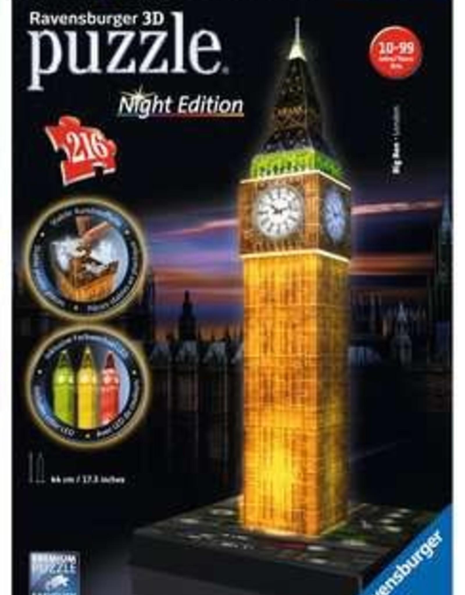 Ravensburger 3D Puzzle Big Ben Night
