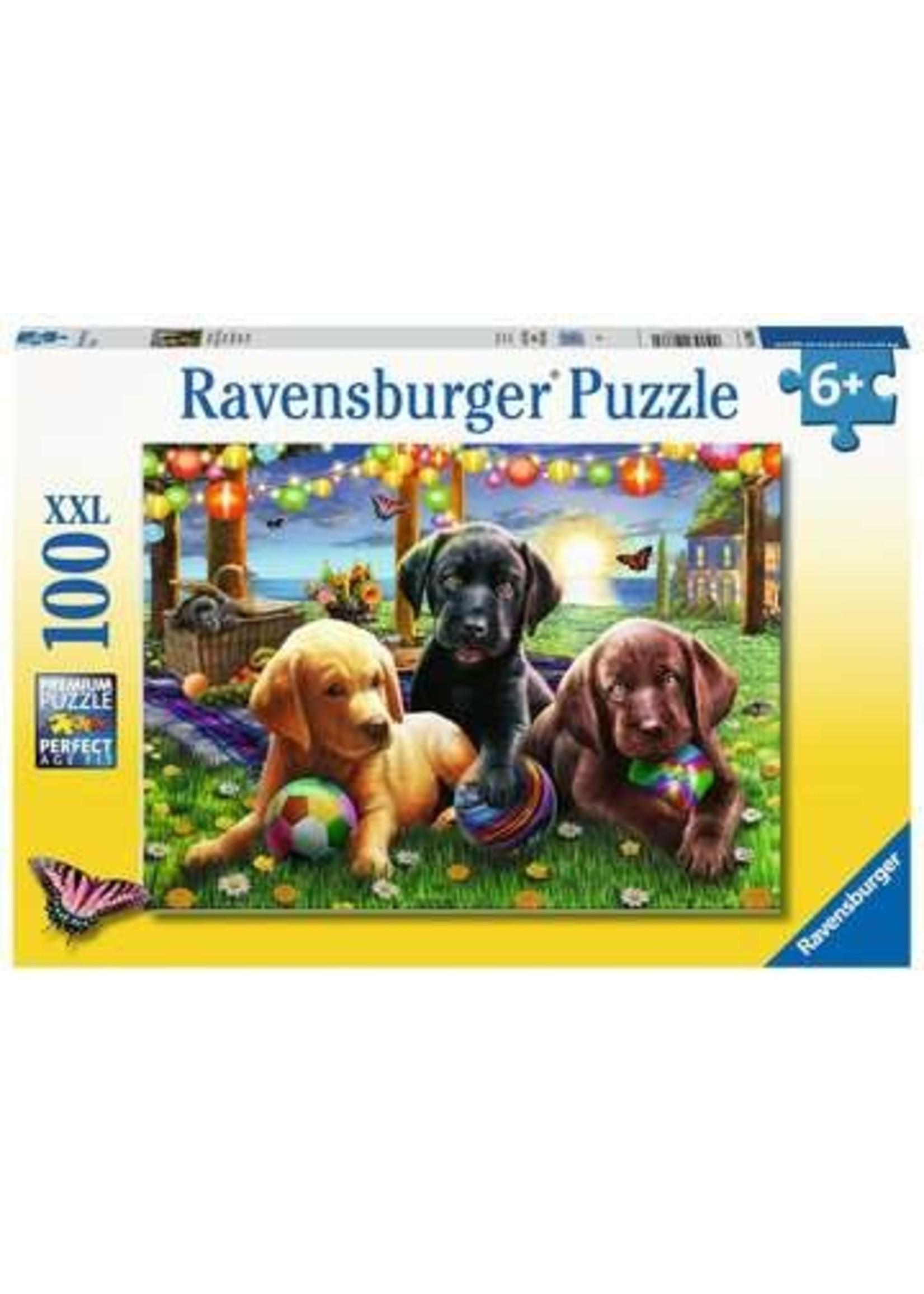 Ravensburger 100pc XXL puzzle Puppy Picninc