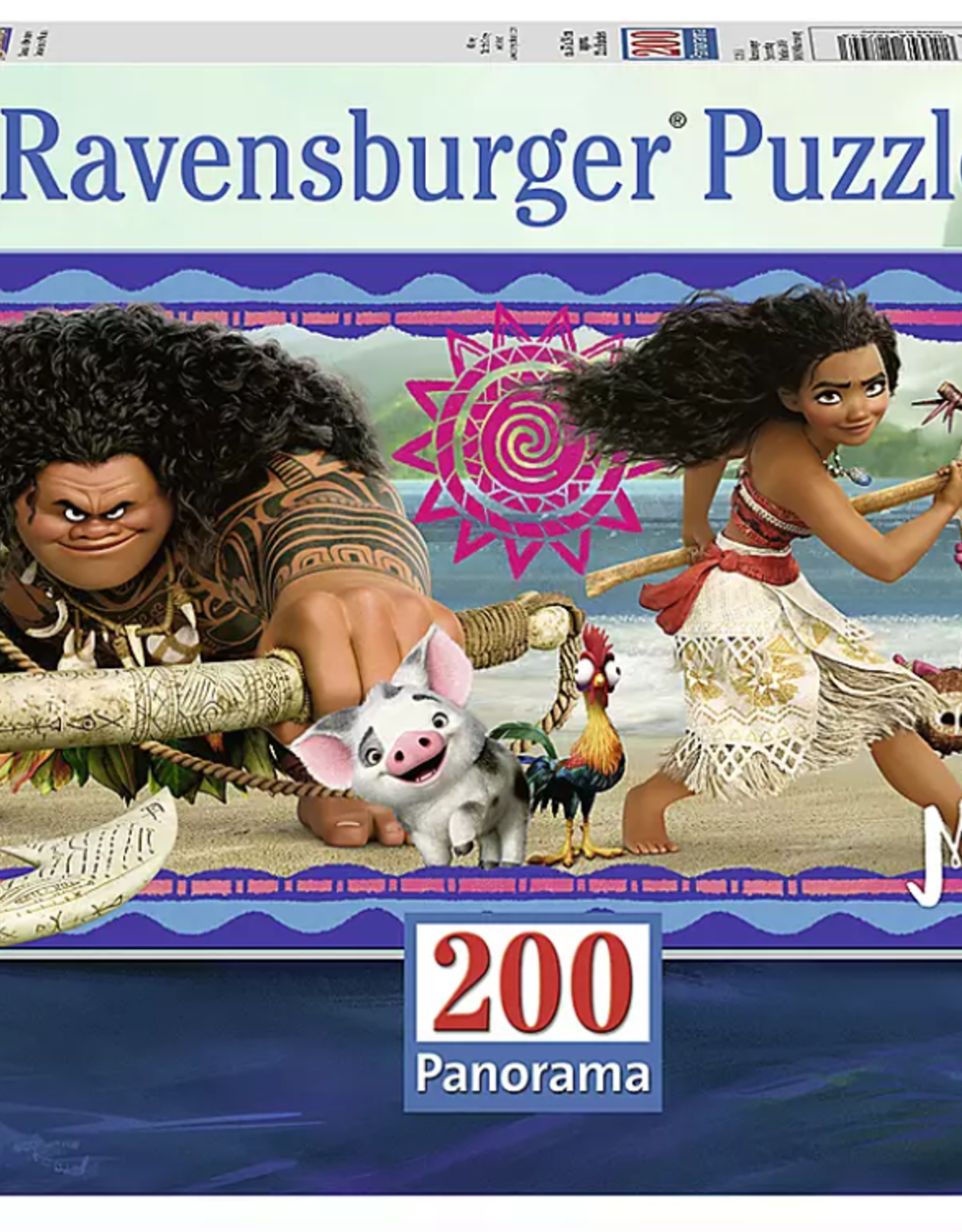 Ravensburger 200pc puzzle Moana's Adventures