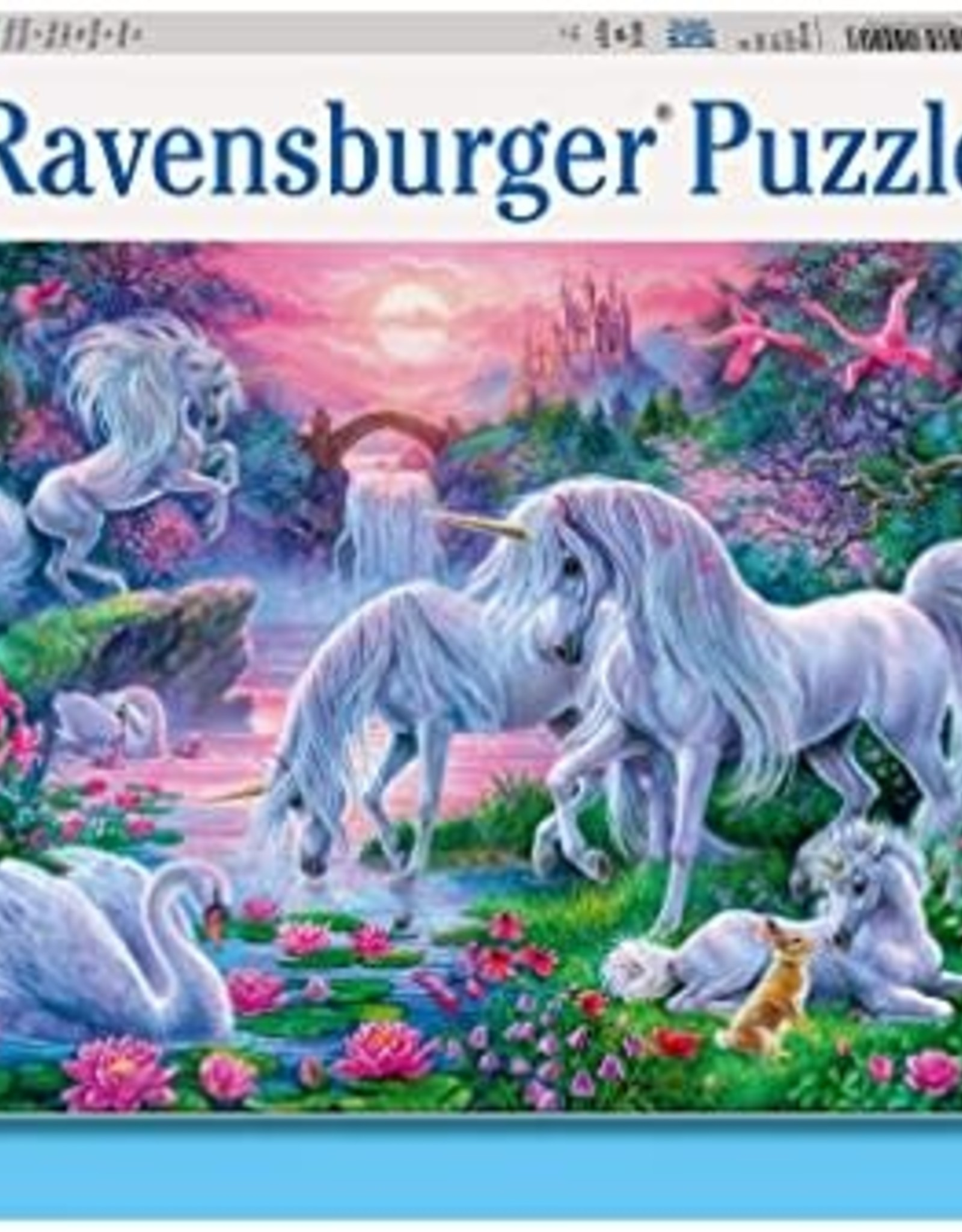 Ravensburger 150pc XXL puzzle Unicorn Sunset