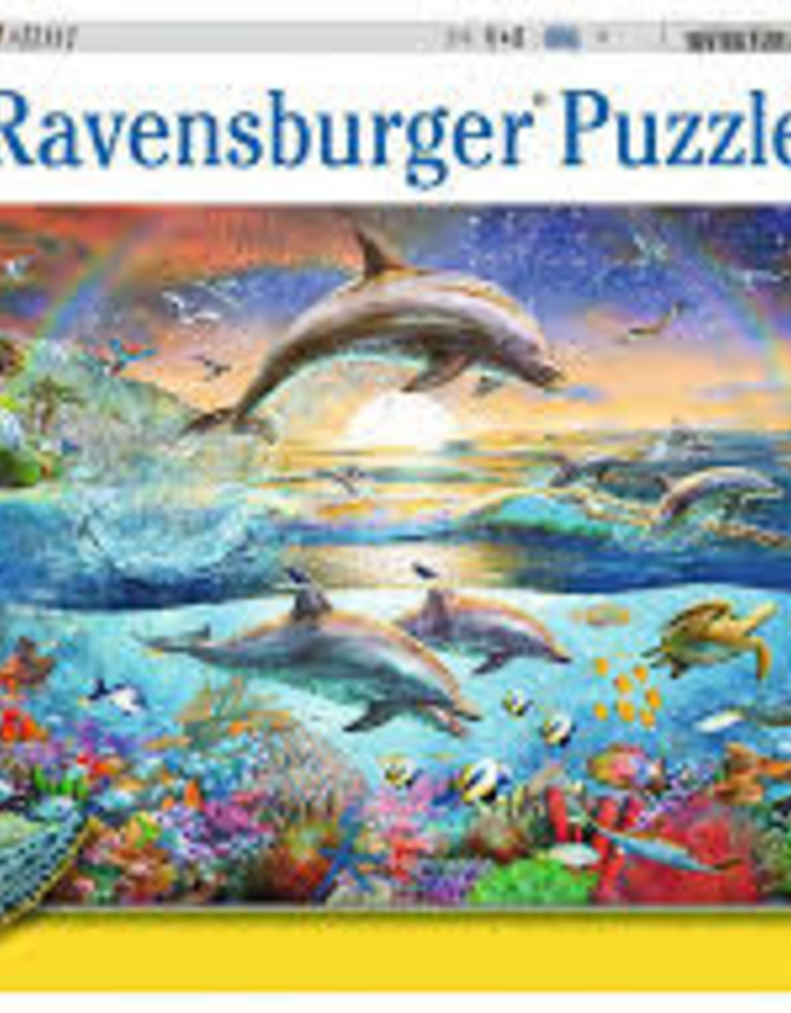 Ravensburger 300pc XXL puzzle Dolphin Paradise