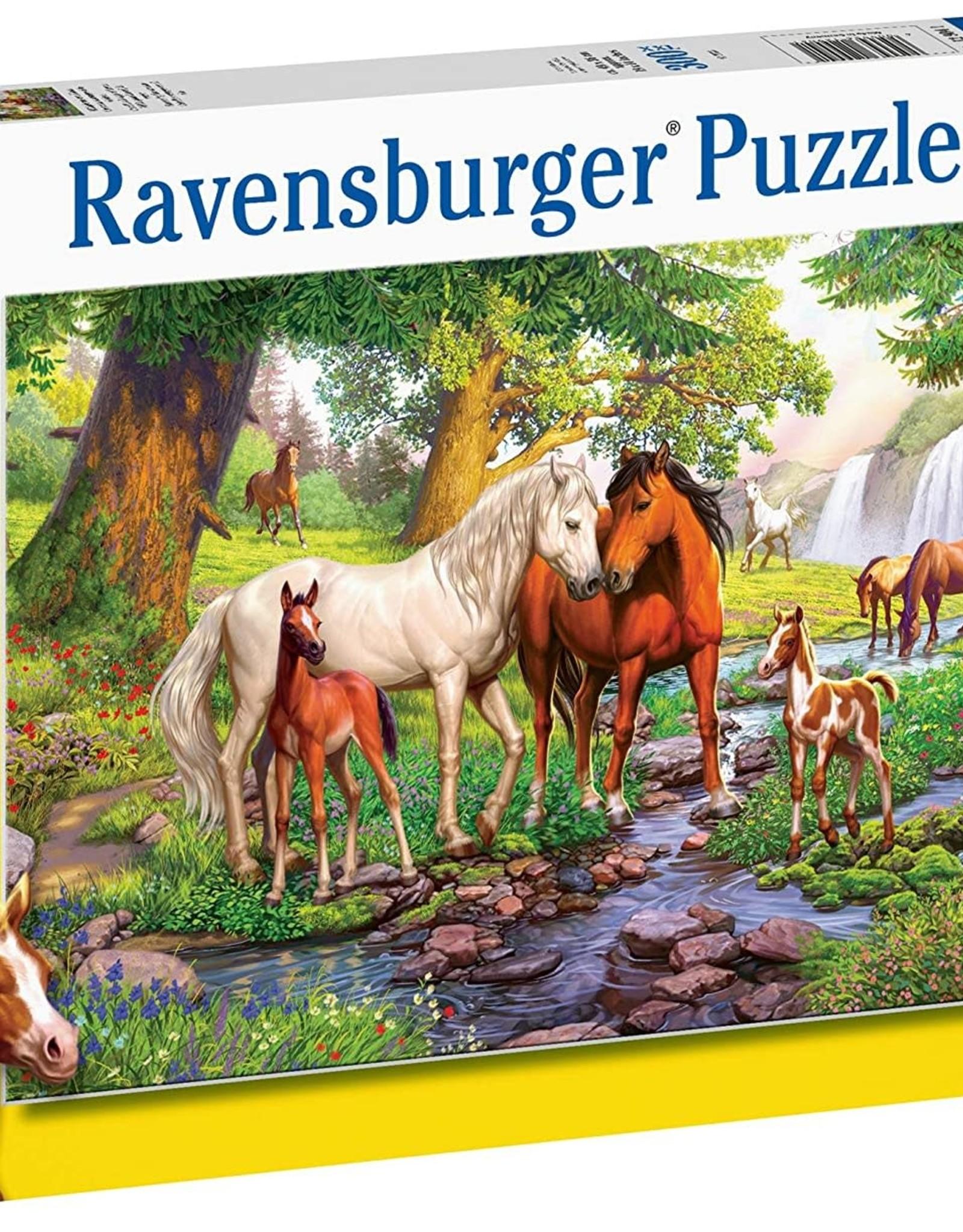 Ravensburger 300pc XXL puzzle Horse Stream