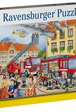 Ravensburger 100pc XXL Puzzle Firehouse Frenzy