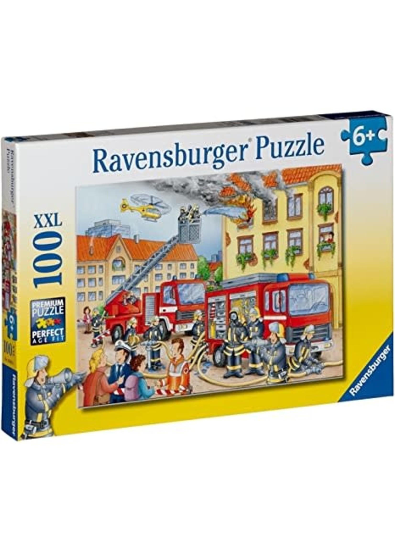 Ravensburger 100pc XXL Puzzle Firehouse Frenzy